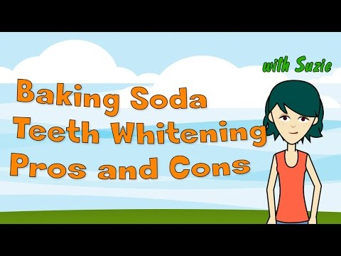 Baking Soda Teeth Whitening - Pros and Cons