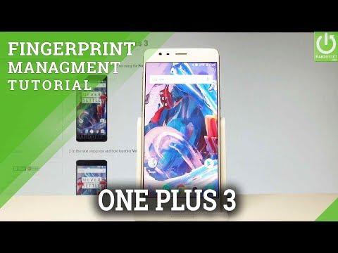 How to Add Fingerprint on OnePlus 3 - Use Fingerprint Unlocking