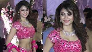 Poorna Patel Wedding Reception : Urvashi Rautela HOT PINK Look