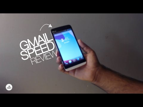 BLU Studio 5.5S - Browsing Gmail Review