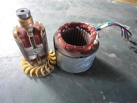 Generator Repairing Course Part # 2 [ Rotor And Stator Out ] ( Urdu / Hindi )