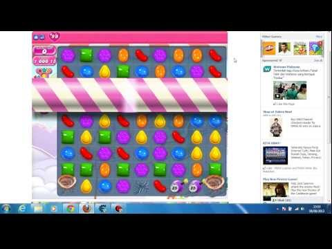 Candy Crush Saga level 440 / unlimited booster / cheat engine 6.2