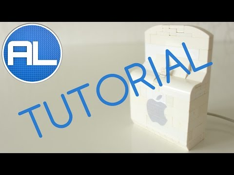 How To Build a LEGO Apple iPhone/iPod Dock