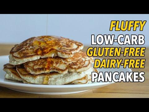 Ultimate Low-Carb, Gluten Free, Dairy Free Pancakes / Panqueques Bajos en Carbohidratos