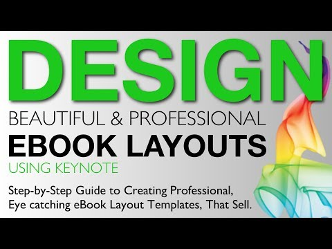 eBook Design: Design Professional, Eye-Catching Ebook Layout Templates Using Keynote [PT1]