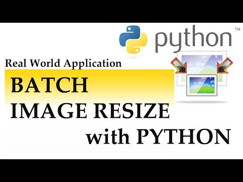 Batch Image Resize with Python (with explanation)