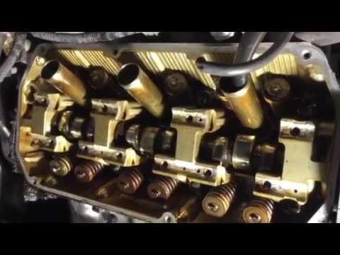 Checking for bent valves after timing belt failure