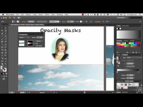 Adobe Illustrator CS6 Tutorial | Opacity Masks | InfiniteSkills