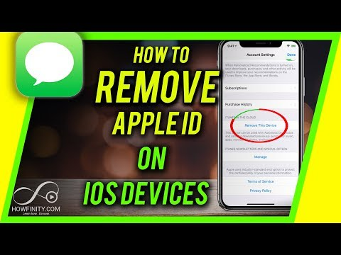 How to Remove Apple ID from iPhone