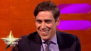 Stephen Mangan Uses His OWN AUDIOBOOKS To Get His Children To Sleep   The Graham Norton Show