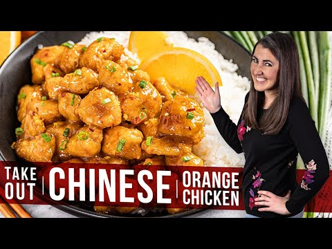 How to Make Chinese Takeout Orange Chicken | The Stay At Home Chef