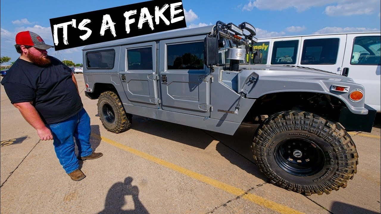 Buying H1 Hummer From Auction..Turns out its FAKE