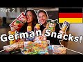 American Girlfriend Tries GERMAN SNACKS CANDY Part 2 Where Is The Kinder Surprise