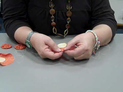 How to make a quilting yo-yo