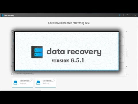 download and install data recovery version 6.5.1