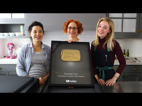 YouTube Golden Creator Award Video