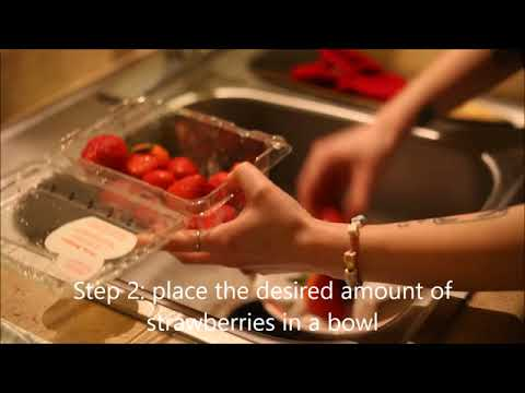 How to Cut Strawberries by Bridget Dixon