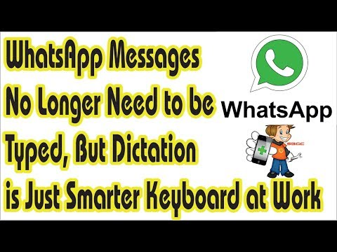 No Longer Need to Type Whats App Messages, There is a Solution for long Messages Typing in Hindi.