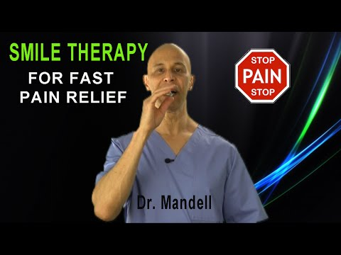 Smile Therapy Exercise for Fast Pain Relief (Neck & Back Pain, Arthritis, Joint Pain) - Dr Mandell