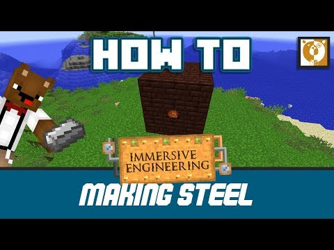 How to make steel in a Blast Furnace - Immersive Engineering [Minecraft 1.10.2] - Bear Games How To
