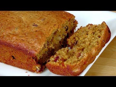 Fruity Nutty Pumpkin Bread Recipe - Laura Vitale - Laura in the Kitchen Episode 227