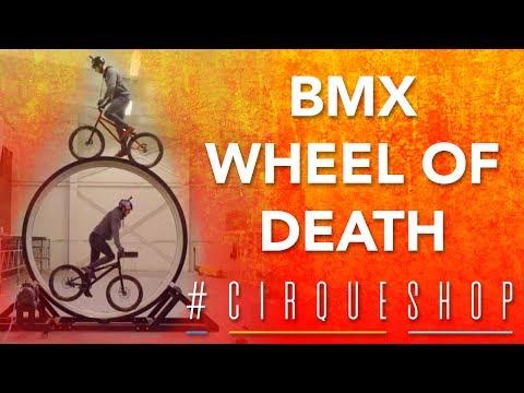 BMX Tricks you have NEVER seen before! | BMX Wheel of Death #CirqueShop | Cirque du Soleil