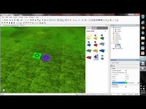 ROBLOX - How to Make Team Spawns
