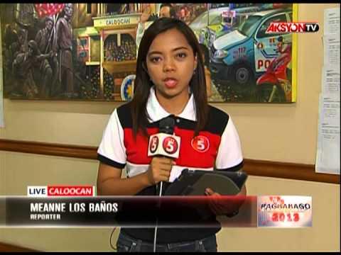 PAGBABAGO 2013  ELECTION OFFICERS, NAGHAHANDA NA PARA SA PAGDAGSA NG MGA BOTANTE CALOOCAN MEAEANNE L