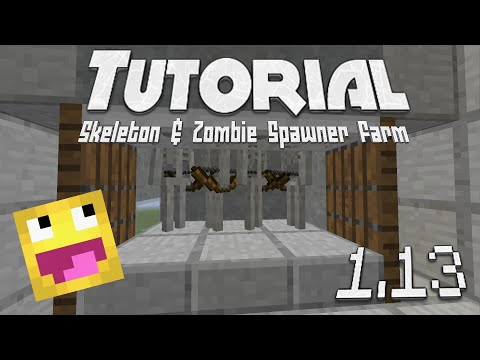 How to make a zombie spawner farm in minecraft -