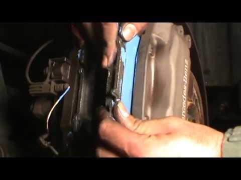 Mercedes-Benz ML-500 brake pad service made easy
