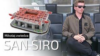 Z wizytą na SAN SIRO - Mikołaj zwiedza stadiony #1