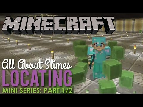 Part 1 of 2: Where to find Slimes in Minecraft