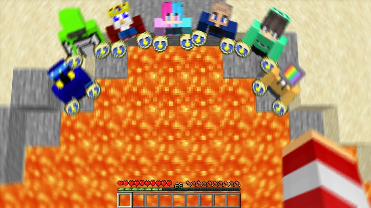 Minecraft, But If I Die My Friends LOSE with TIME FREEZING