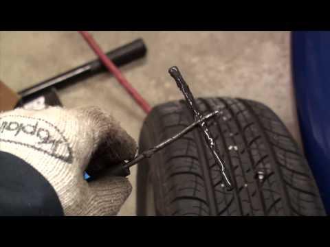 DIY Flat Tire Repair