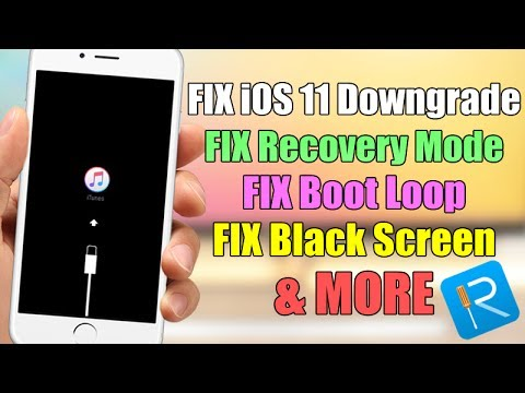 FIX Recovery Mode With One Click, FIX iOS 11 Downgrade, Stuck On Apple Logo, Boot Loop & MORE