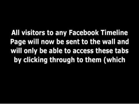 Facebook Timeline For Brands Petition - Facebook Killed The Default Landing Tab