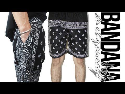 DIY: Paisley Bandana Shorts