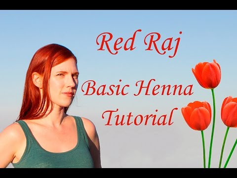 Red Raj Basic Henna Tutorial
