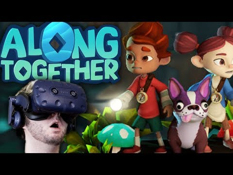 MOSS-LIKE GAMEPLAY ON THE VIVE | Along Together Gameplay (HTC Vive VR)
