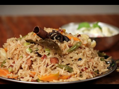 Simple Pulao | Not So Junky - by Chef Siddharth | Sanjeev Kapoor Khazana