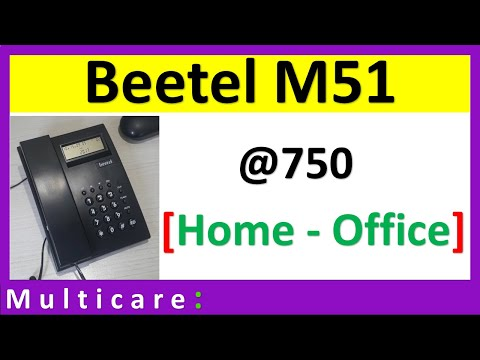 Unboxing Beetel landline telephone | Best Budget Phone Beetel M51 @750 only