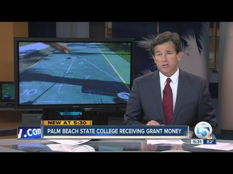 Palm Beach State College receiving grant money