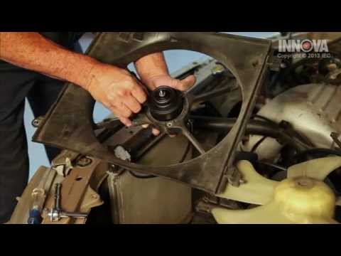 How to change Radiator Cooling Fan Motor - 1997 Toyota Camry
