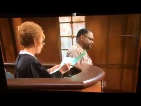 Judge Judy scolds Court Officer Byrd who shows some attitude towards plaintiff