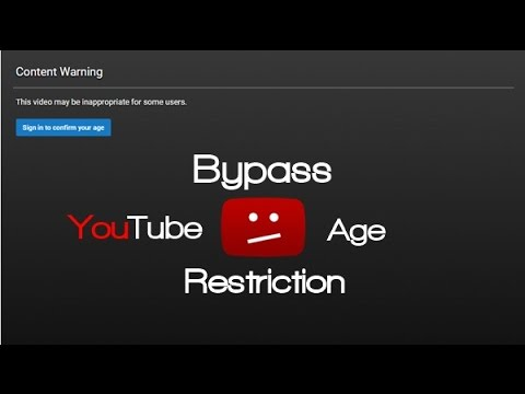 How to watch age restricted videos without signing in
