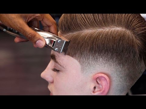 HAIRCUT TUTORIAL: MENS COMBOVER | BLOW DRY & STYLE