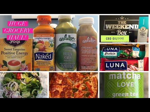 Grocery Haul | What I Eat in a Day | and...CBD Oil!?