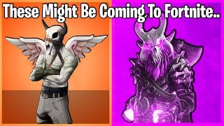 10 FORTNITE SKINS THAT MAY BE COMING SOON!