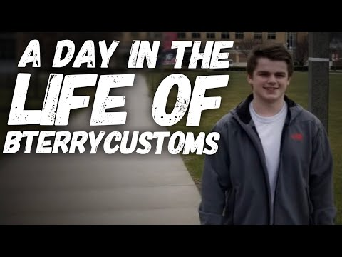 A DAY IN THE LIFE OF BTERRY CUSTOMS!