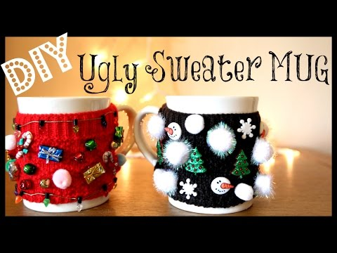 DIY Ugly Sweater MUG!!! | MissJenFABULOUS